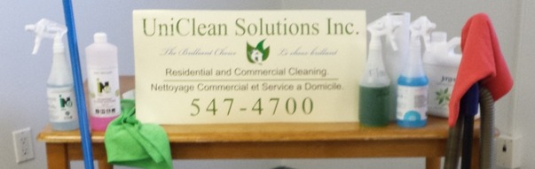 Uniclean Solutions sign